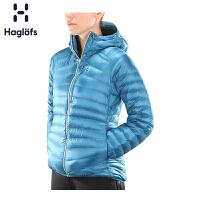 Haglofs火柴棍户外运动女款防风防拨水轻量保暖羽绒服603066欧版