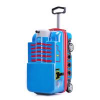 托马斯火车儿童拉杆箱男女20寸可坐可骑行李箱宝宝旅行箱小孩拖箱 支持礼品卡支付