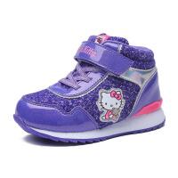 hellokitty童鞋女童大棉鞋儿童运动鞋冬季新款加绒保暖小童鞋K6453DD702