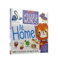 【首页抢券300-100】Wonderful Words At Home 妙妙单词书 在家 词汇启蒙 事物认知 英语场景