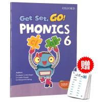 Oxford Get Set Go Phonics 6 牛津自然拼读教材学生用书 英文原版 牛津幼儿英语启蒙教材 英文版