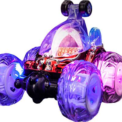 儿童玩具男孩充电遥控越野汽车翻滚特技车无线赛车耐摔翻斗车变形