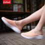 【限时特价包邮】Coolmuch情侣休闲鞋夏季男女轻便缓震网面透气运动休闲套脚健步鞋FF9901