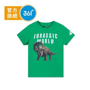 361度 男童短袖T恤童装儿童针织衫2018年夏季新款 侏罗纪款 N51822206