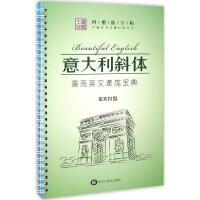 中国好书法魔幻练字王英文意大利斜体 龙文井 书