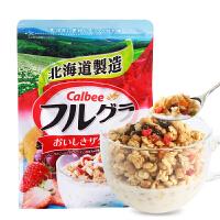 【满减】日本进口 卡乐比calbee富果乐网红水果燕麦片700g即食谷物早餐
