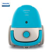 飞利浦(PHILIPS)吸尘器家用办公静音 有尘袋 大功率 手持式小型迷你吸尘器 FC8082/81