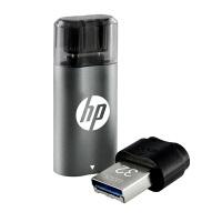 [大部分地区包邮] 惠普X5000M 64G Type-C手机U盘64g 64gu盘USB3.1电脑两用优盘华为P9小