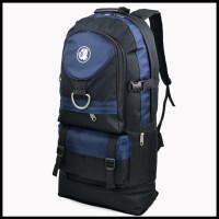 大容量户外双肩包男休闲运动旅行双肩包女旅游登山包 50-65升