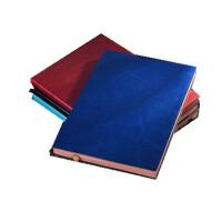 bowen博文软皮带金属吊牌记事本效率手册A5商务办公笔记本本子