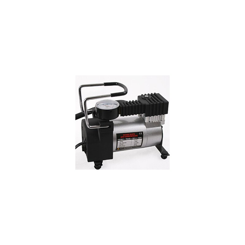 汽车金属车用充气泵打气泵 12V车载轮胎充气泵打气机 单缸充气泵