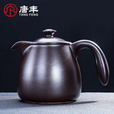 唐丰茶壶功夫茶具套装日式侧把壶陶瓷茶壶创意单壶家用普洱泡茶器