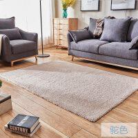 家纺现代简约田园加厚纯色宜家地毯客厅茶几卧室床边地毯满铺