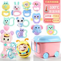 婴儿摇铃 儿童玩具3-6-12个月宝宝软胶益智手摇铃