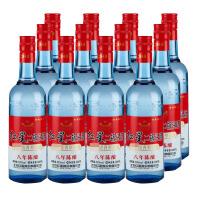【酒界网】红星 53度 红星八年陈酿蓝瓶 500ml * 12 白酒
