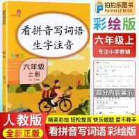 看拼音写词语生字注音六年级上册部编人教版