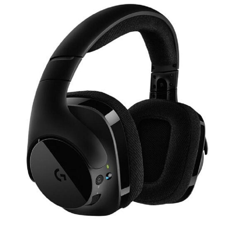"""罗技(Logitech)G533 Wireless DTS 7.1 环绕声游戏耳机麦克风 电竞耳机 耳机头戴式 畅想""""无线"""",尽享游戏,乐在其中"""