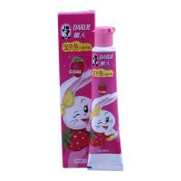 黑人 牙膏 宝贝兔 儿童牙膏 草莓味 40g清洁口腔