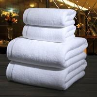 五星级酒店宾馆棉浴巾白色柔软美容院棉加大加厚毛巾J 0.00x0.00cm