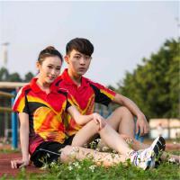 羽毛球服套装运动服男女款比赛训练乒乓球服网球服装