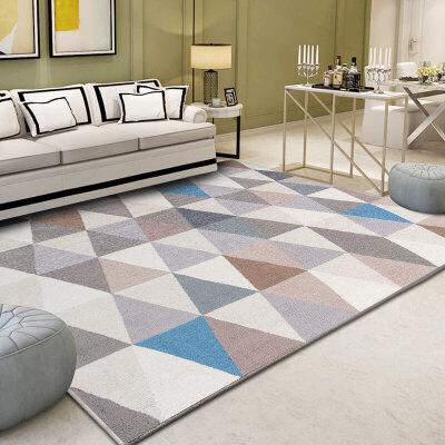 欧式客厅沙发地毯茶几垫房间卧室床边简约现代ins北欧美式可定制