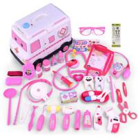 儿童过家家救护车工具箱男孩医疗听诊器女孩子打针小医生玩具套装