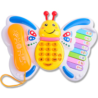 儿童电话玩具音乐琴男女孩宝宝玩具婴幼儿歌故事机1-3岁