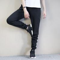 Adidas阿迪达斯 女子 运动休闲裤 保暖针织长裤BK7065