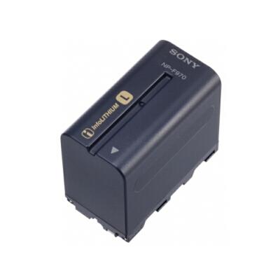 Sony/索尼NP-F970摄像机原装锂电池 适用于索尼2500C AX1E EA50 NX3 NX100 Z150摄像机使用 适用于索尼MC1500C MC2500 NX3 NX5C EA50等