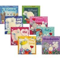【首页抢券300-100】The Things I Love About 毛毛兔儿童情绪管理绘本 8册 亲子共读 儿童心