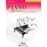【现货】英文原版 菲伯尔钢琴乐谱: 1级演奏 Piano Adventures: Level 1: Performanc