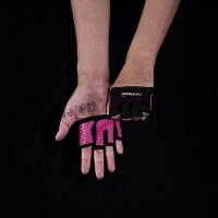 四指男女运动防滑健身手套 加厚器械哑铃举重训练手套 X