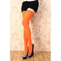 日系长筒袜COS过膝糖果色女仆情趣大腿袜可爱高筒袜学生彩色丝袜