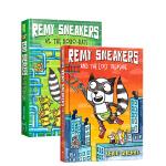 顺丰发货 英文原版进口精装漫画 Remy Sneakers 1-2册 Remy Sneakers vs. the Ro