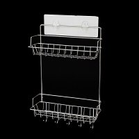 卫生间置物架免打孔无痕厕所不锈钢储物架洗漱台收纳架子浴室壁挂