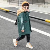 儿童冬季棉衣中长款棉袄2018新款韩版男孩外套