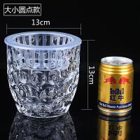 透明水培玻璃花瓶 水培植物玻璃瓶加厚小花瓶 铜钱草绿萝花盆 中等