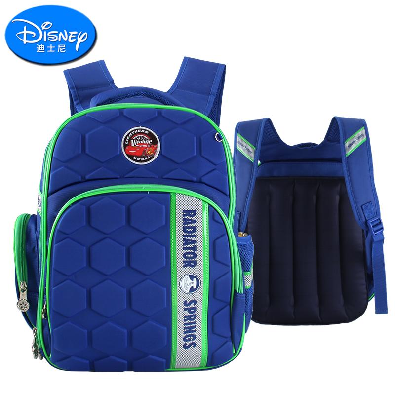 迪士尼小学生书包气垫背包救生充气男童1-3-4-5年级儿童双肩包