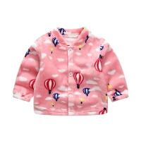 男女宝宝保暖加绒外套婴儿棉袄男童女童秋冬装小儿童加厚棉衣