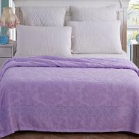 棉毯子 夏天毛巾被盖毯午睡儿童学生小毛毯冰丝纯棉凉薄
