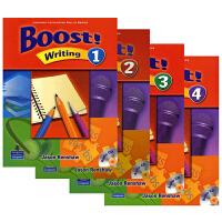 培生朗文原版进口中学英语教材 写作强化训练Boost Writing  L1-L4级  学生用书+CD