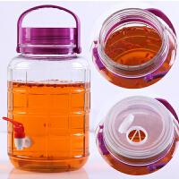 大号玻璃泡酒瓶带龙头泡酒罐密封酵素桶葡萄酒发酵罐自酿泡菜坛子