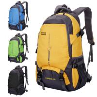 新款户外大容量背包旅行防水登山包女运动书包双肩包男25L45升