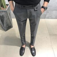 男士裤免烫长裤青年时尚潮流青年