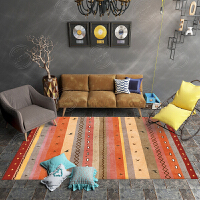 民族风复古摩洛哥波西米亚土耳其地毯客厅沙发茶几卧室床边垫满铺
