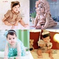 新款韩版百天周岁宝宝儿童摄影服装影楼照相拍照服饰男女童装