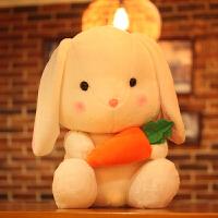 大号儿童节玩偶女孩生日礼物送女友垂耳兔毛绒玩具兔子公仔娃娃