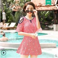 泳衣女保守新款学生少女韩国ins风连体裙式时尚显瘦性感