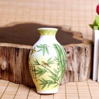 冰箱贴定制中国风花造型陶瓷冰箱贴磁铁家居装饰商务外事出国小礼品 中