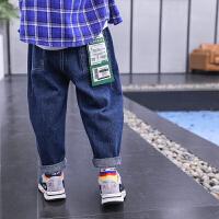男童牛仔裤2020中大童春装男孩长裤薄款儿童裤子
